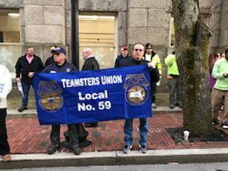 Working People's Day Of Action, New Bedford MA