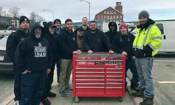 Ryder Truck Rental Strike, New Bedford MA, 2016