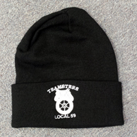 Teamsters Union Local No. 59 Black Beanie Hat