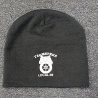Teamsters Union Local No. 59 Grey Beanie Hat
