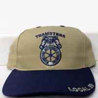 Teamsters Union Local No. 59 Khaki Hat (Baseball Style)