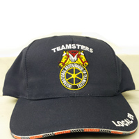 Teamsters Union Local No. 59 Navy Blue Hat (Baseball Style)